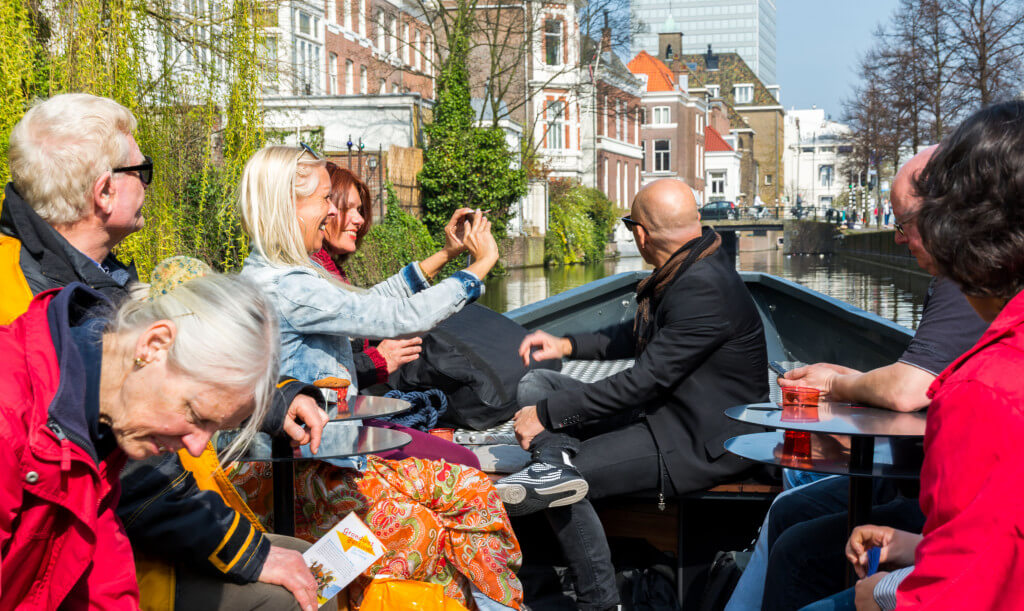 Koningsdag Den Haag Rondvaart centrum Den Haag