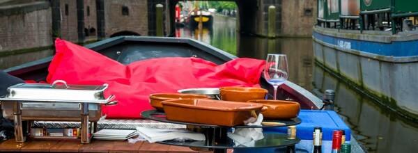 Tapas Boot bedrijfsuitje Den Haag