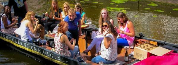 wijnproeverij Den Haag rondvaart