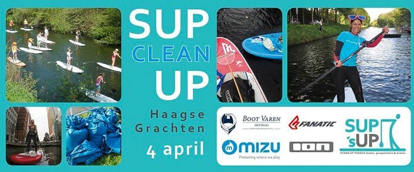 Sup Clean Up Boot Varen Den Haag