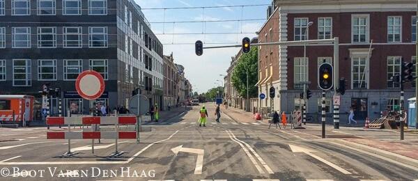 Kuyperbrug Den Haag route Scheveningen