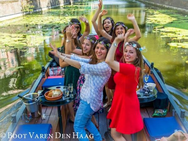 openingsfeest Kuyperbrug Den Haag Rondvaart