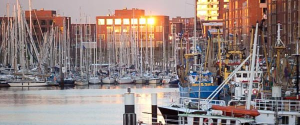 varen in haven Scheveningen