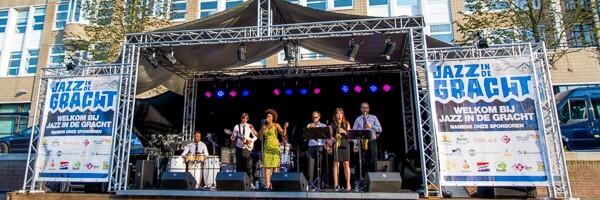 Jazz in de Gracht Bootje huren Den Haag