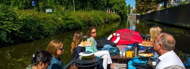 Bijzondere lunch in Den Haag