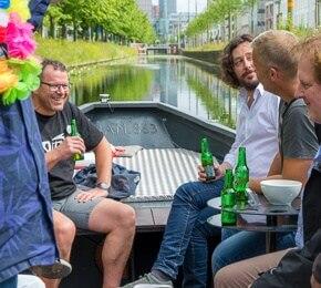 bier boot den haag mannen uitje