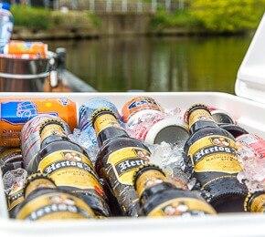 Bier Boot Den Haag echt mannenuitje