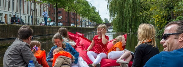 Ontbijt Boot Den Haag Rondvaart arrangement ochtend uitje