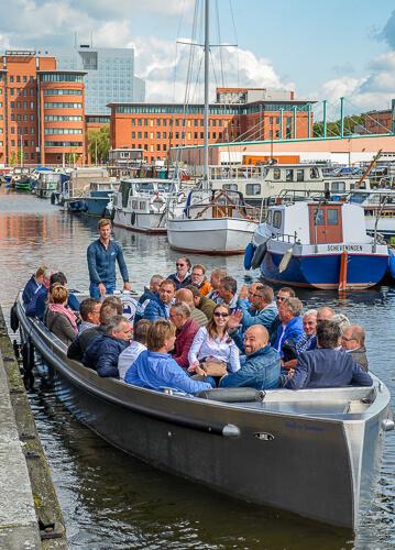Duurzaam elektrisch rondvaart Den Haag Scheveningen