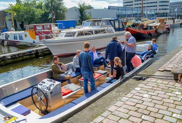 Contact elektrisch varen Den Haag Scheveningen boot huren denhaag