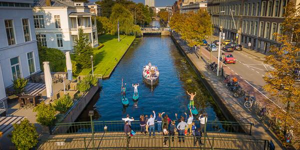 Vaarroute rondvaart Den Haag Scheveningen