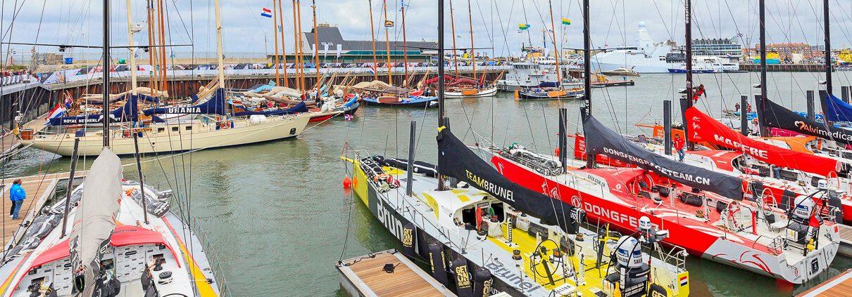 Volvo Ocean Race 2018 Den Haag boottocht Scheveningen