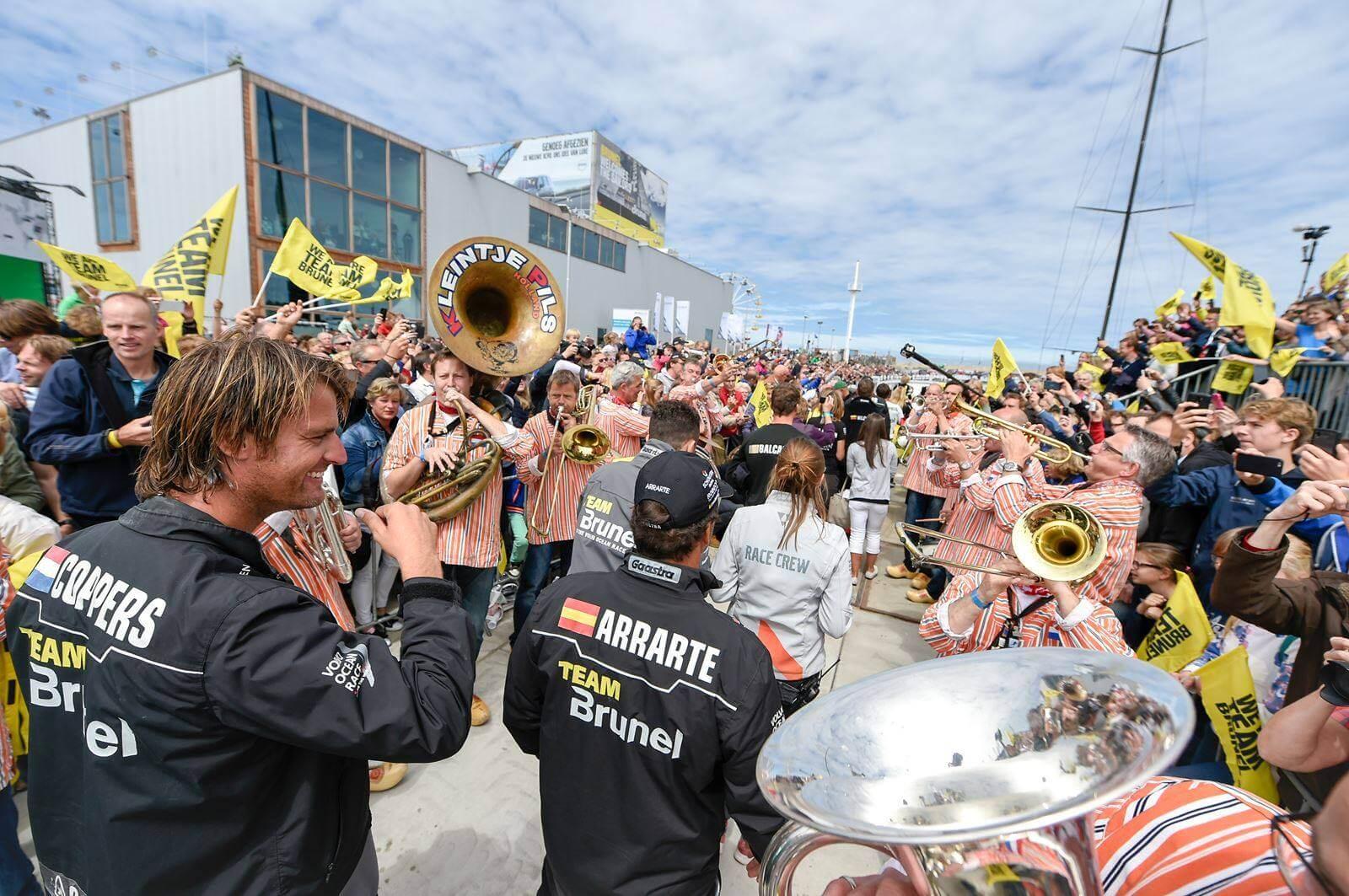 Volvo Ocean Race Den Haag Scheveningen 2018