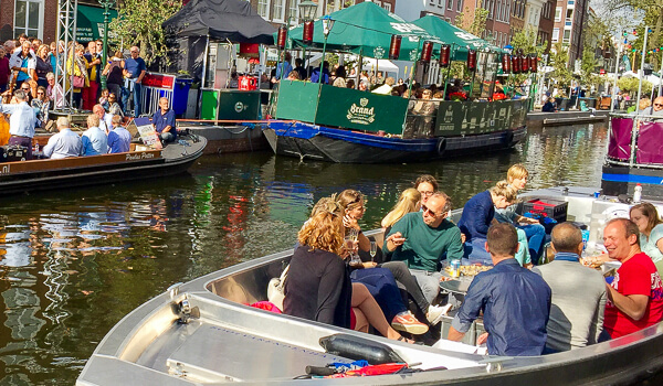 Jazz in de Gracht bootje huren Den Haag 2020