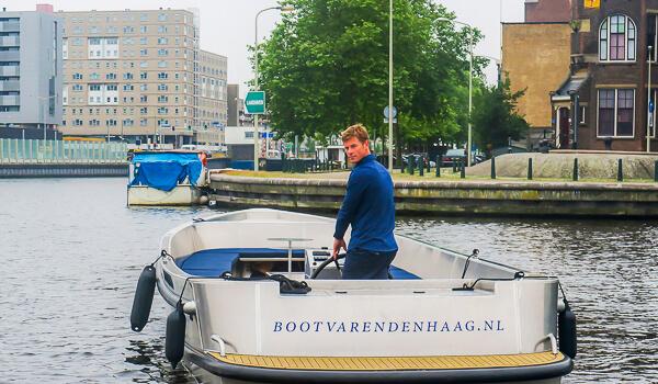 Elektrisch Boot Varen Den Haag