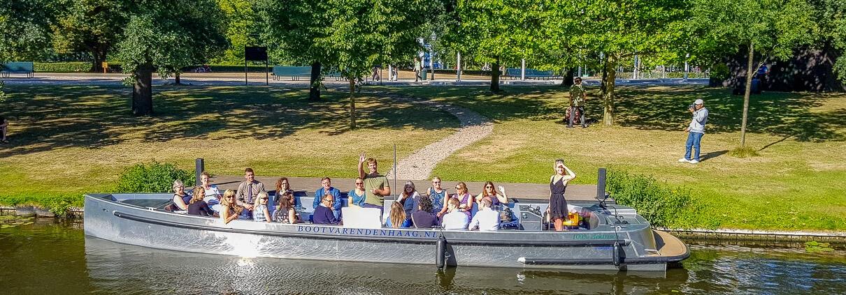 Elektrische varen rondvaart Den Haag