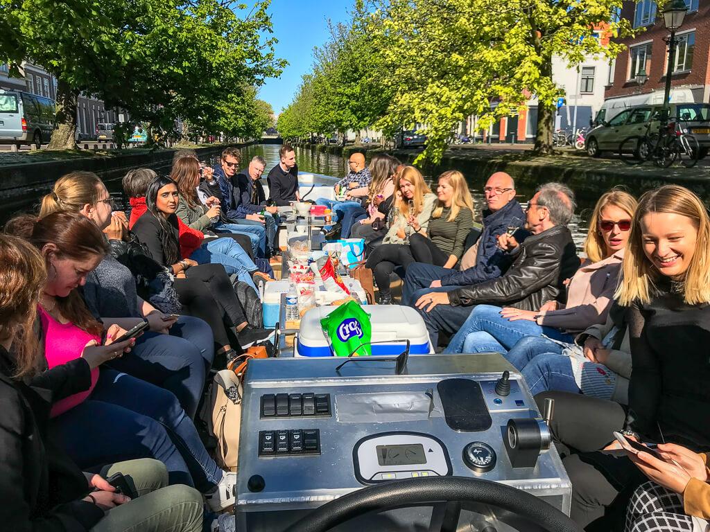 Foto Bootje Huren Den Haag