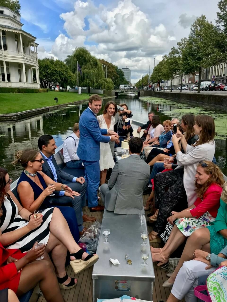 Huwelijksbootje Mauritskade Den Haag