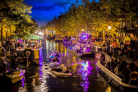 Jazz in de gracht evenement