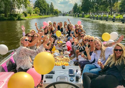 Rondvaart foto varen Den Haag Scheveningen