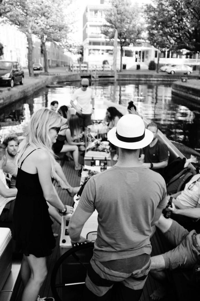 Party-Boat The Hague Scheveningen friends family bachelorrette