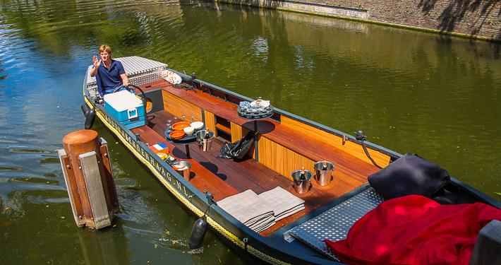 Rondvaartboot Varen Den Haag naar Delft