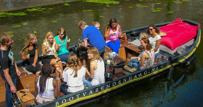 Rondvaartorganisatie Boot Varen Den Haag Rondvaart