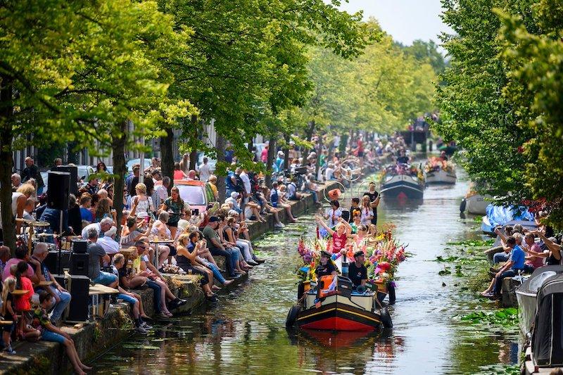 Bloemencorso naar Den Haag in 2020