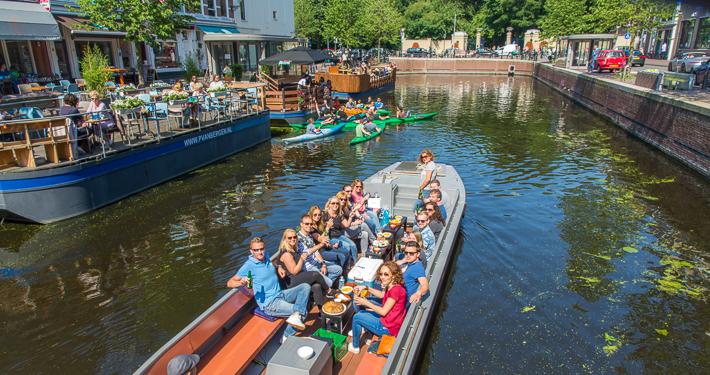 Boottocht Paleistuin in Den Haag naar Delft