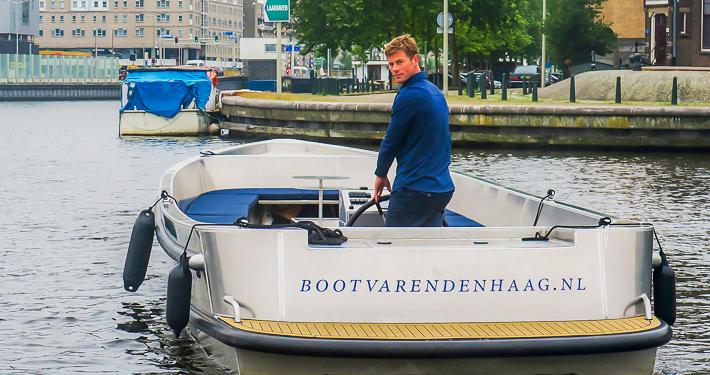 Duurzaam Familieuitje op boot in Den Haag