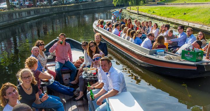 Groepsvaarten in Den Haag Scheveningen en Delft