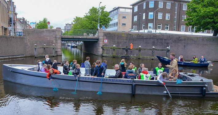 rondvaartorganisatie Boot Varen Den Haag Groepsvaarten