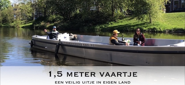 Corona Proof 1,5 meter vaartje Den Haag