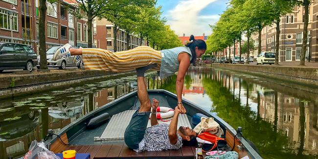 Romantisch uitje stelletje Den Haag Scheveningen