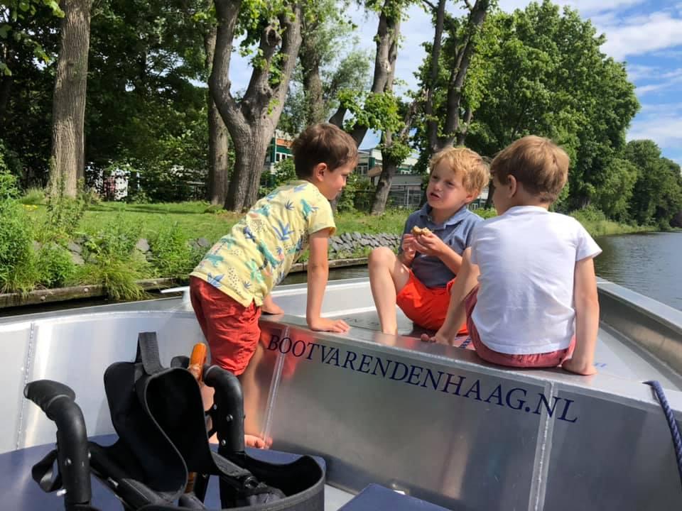 Gezin uitje Den Haag buitenlocatie Scheveningen