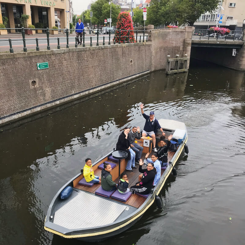 Family day outing in The Hague