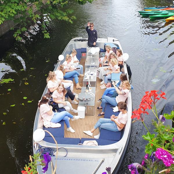 Rondvaart Den Haag Bierkade Zieken